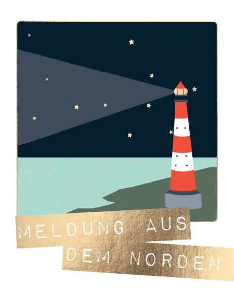 Postkarte: Meldung aus dem Norden