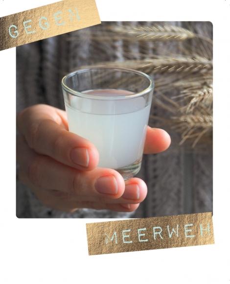 Postkarte: Gegen Meerweh