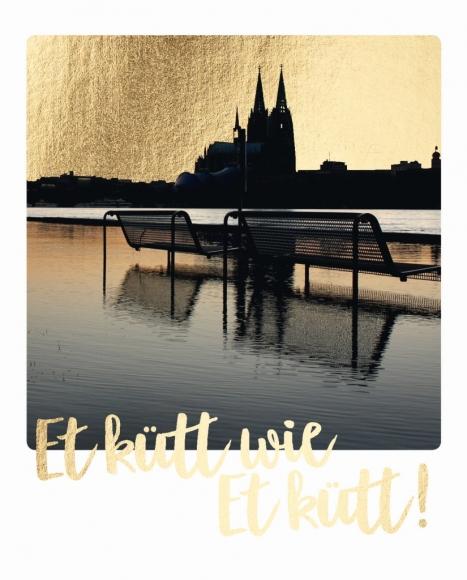 Postkarte: Et kütt wie et kütt!