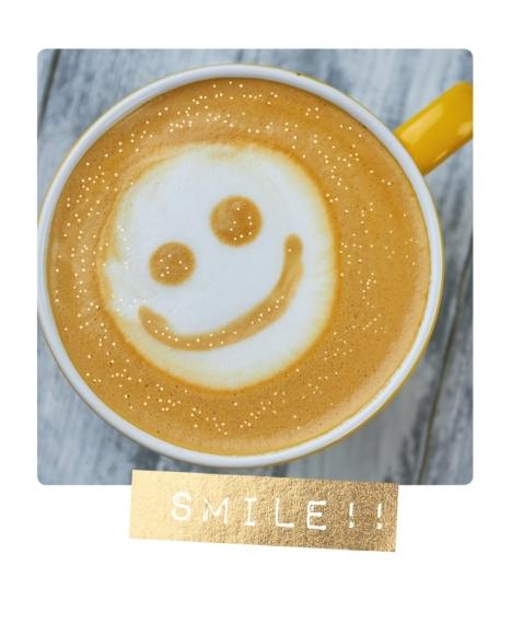 Postkarte: Smile!!