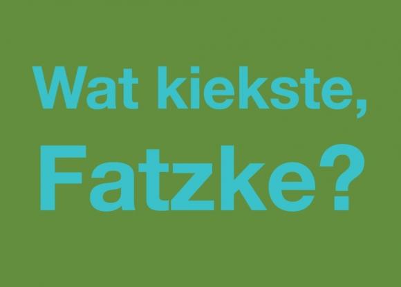 Postkarte: Wat kiekste, Fatzke