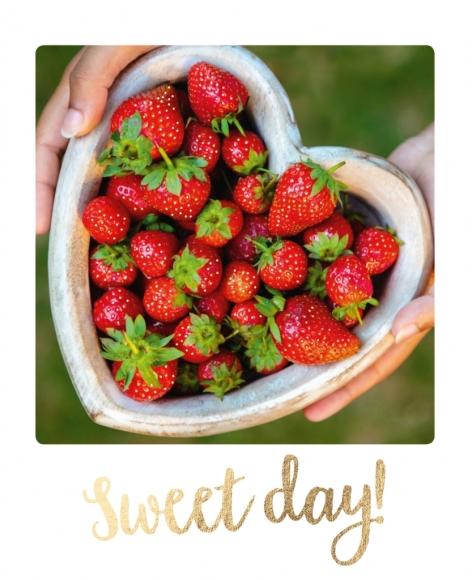 Postkarte: Sweet day!