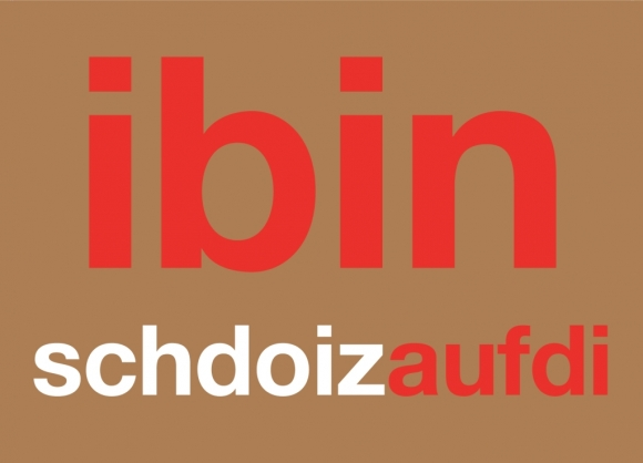Postkarte: ibinschdoizaufdi
