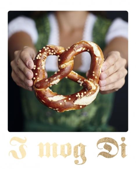Postkarte: I mog Di - Brezn