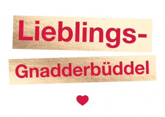 Postkarte: Lieblings-Gnadderbüddel