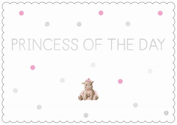 Postkarte: Princess of the Day