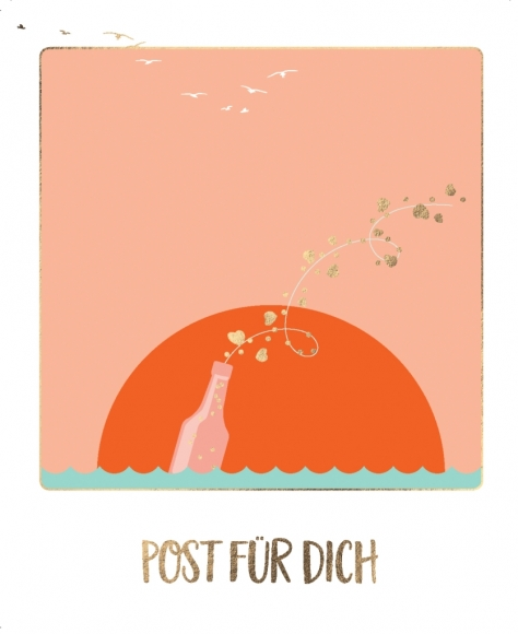 Postkarte: Post für Dich