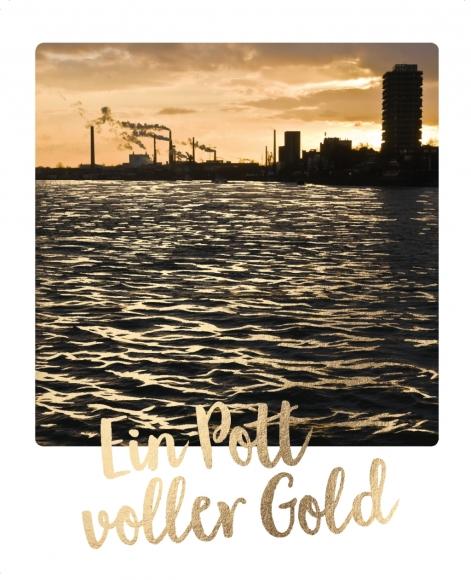 Postkarte: Ein Pott voller Gold