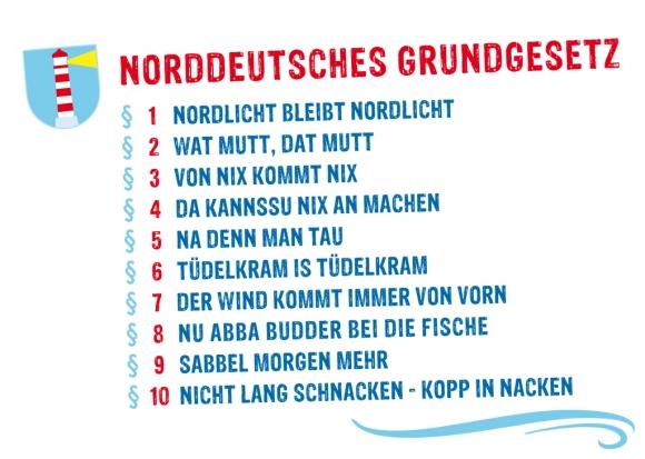 Postkarte: Norddeutsches Grundgesetz