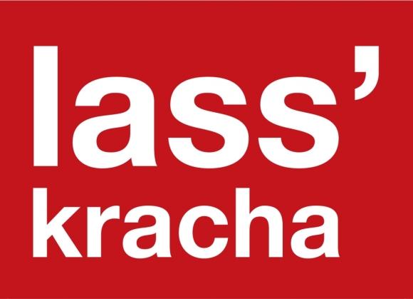 Postkarte: lass' kracha