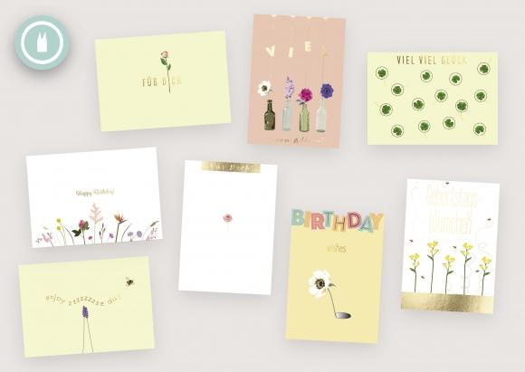 alleskönner * Set 8 Postkarten