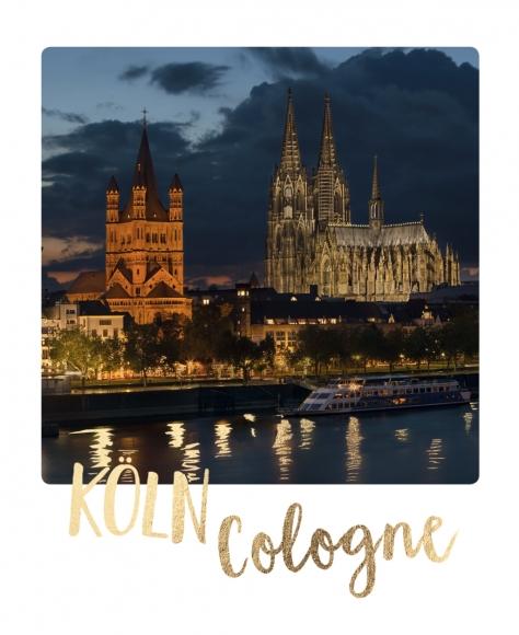 Postkarte: Köln Cologne