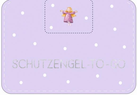 Doppelkarte: Schutzengel-to-go