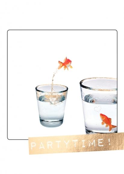 Doppelkarte: Partytime!