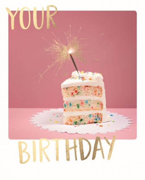 Doppelkarte: Your Birthday
