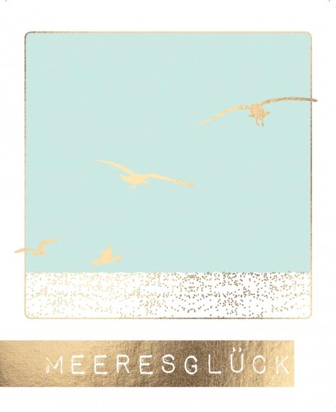 Postkarte: Meeresglück