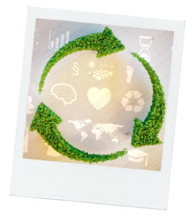 nachhaltige Postkarten