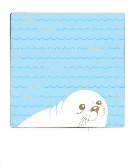 Postkarte: Robbe