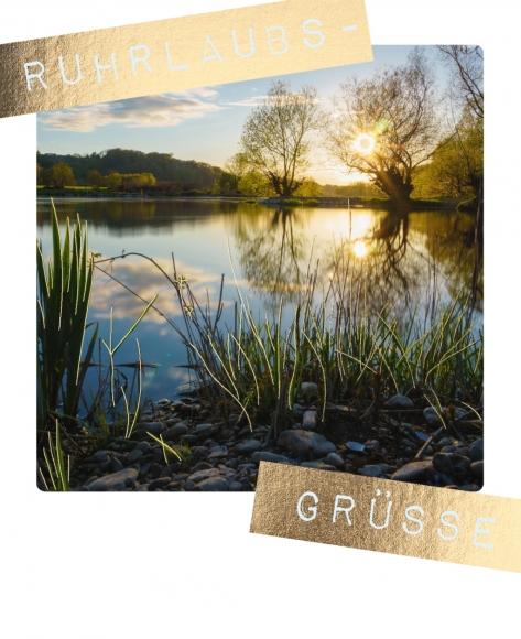 Postkarte: Ruhrlaubsgrüße