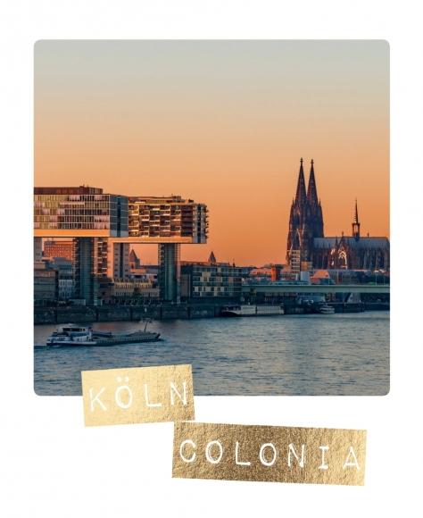 Postkarte: Köln Colonia
