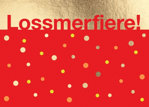 Postkarte: Lossmerfiere!