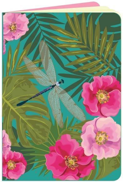Heft flowerpower Libelle