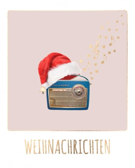 Postkarte: Weihnachrichten