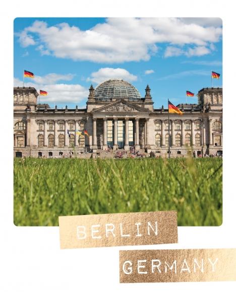 Postkarte: Berlin Germany