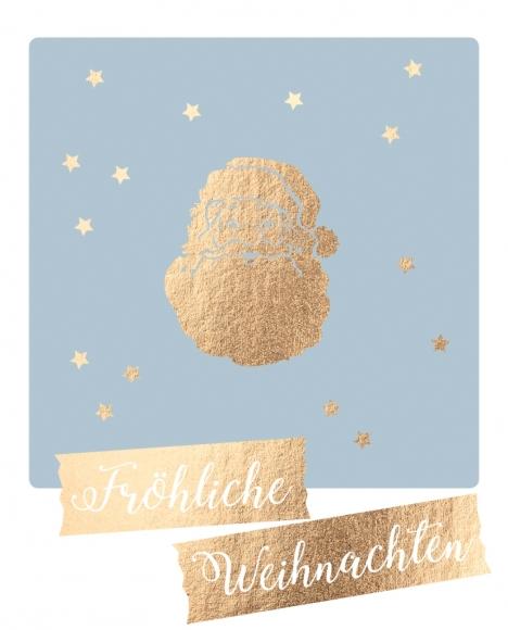 Postkarte: Fröhliche Weihnachten
