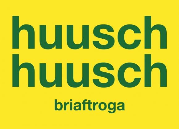 Postkarte: huuschhuuschbriaftroga