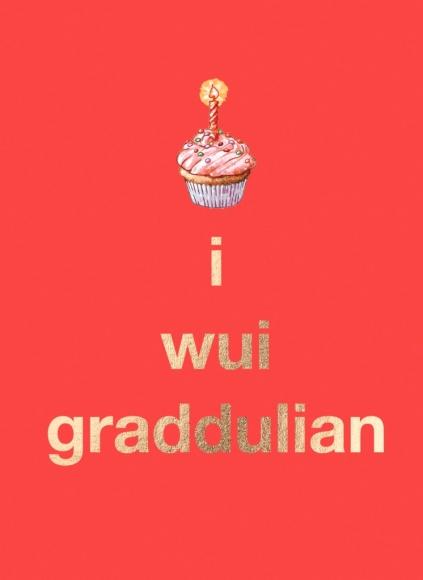 Doppelkarte: i wui graddulian