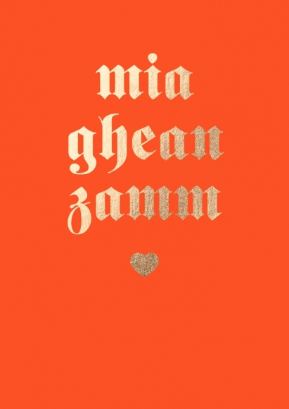 Postkarte: mia ghean zamm