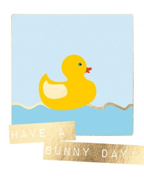 Postkarte: Have a sunny day!