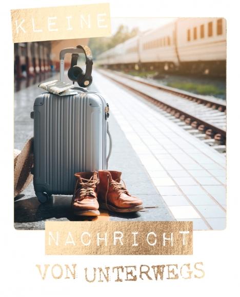 Postkarte: Kleine Nachricht von unterwegs