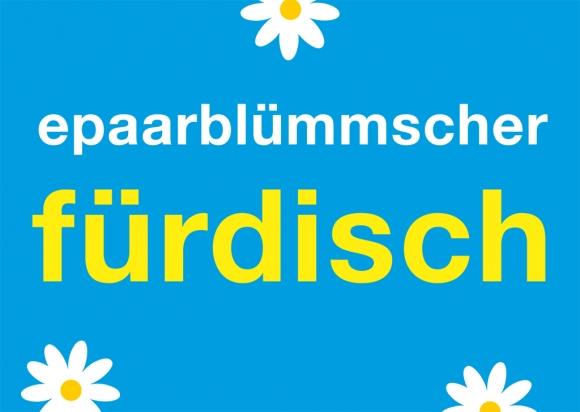 Postkarte: epaarblümmscherfürdisch