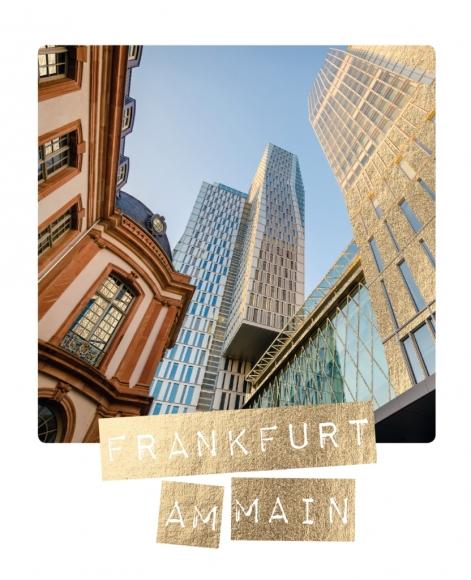 Postkarte: Frankfurt am Main