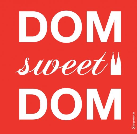Serviette Dom sweet Dom