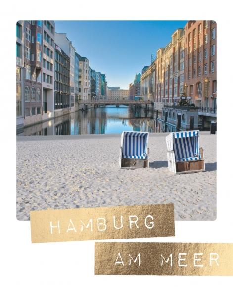 Postkarte: Hamburg am Meer