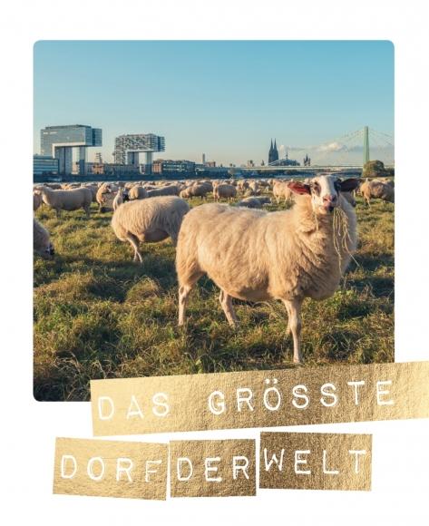 Postkarte: Das größte Dorf der Welt