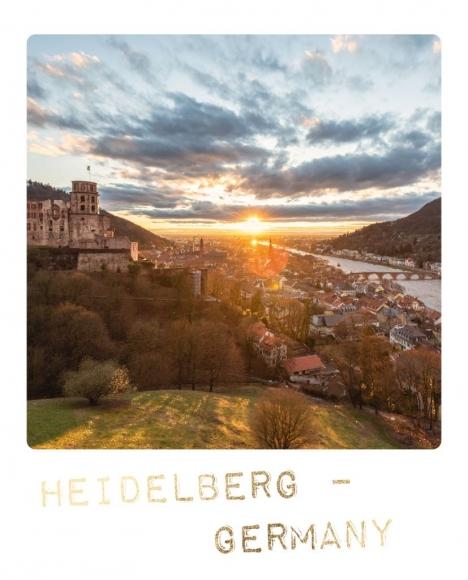 Postkarte: Heidelberg - Germany