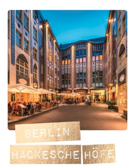 Postkarte: Berlin, Hackesche Höfe