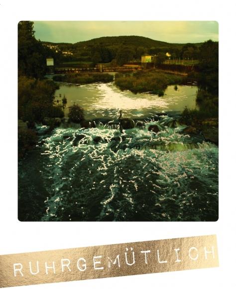Postkarte: Ruhrgemütlich