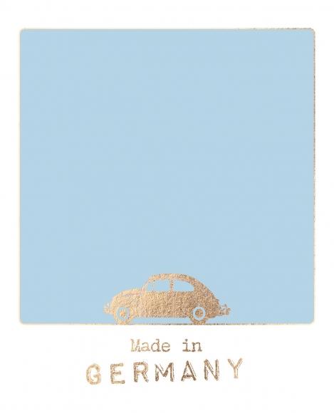 Postkarte: Made in Germany
