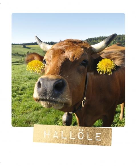 Postkarte: Hallöle