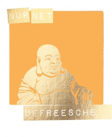 Postkarte: Nur net uffreesche