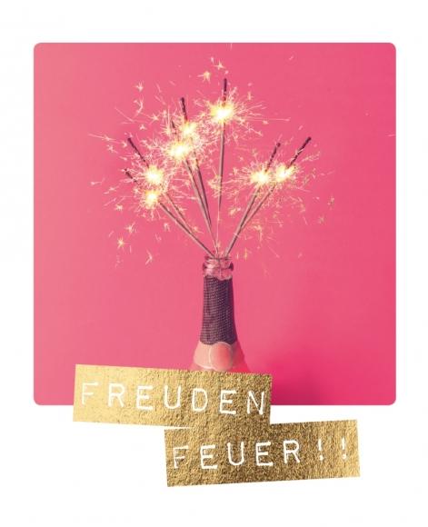 Doppelkarte: Freudenfeuer!!