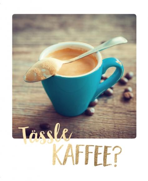 Postkarte: Tässle Kaffee?