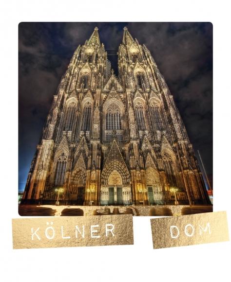 Postkarte: Kölner Dom