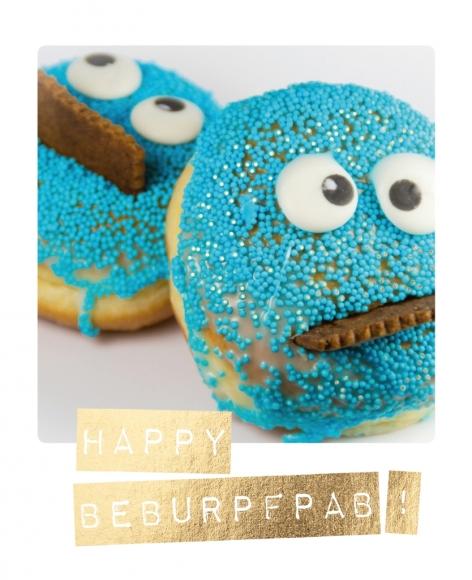 Postkarte: Happy Beburpfpab!