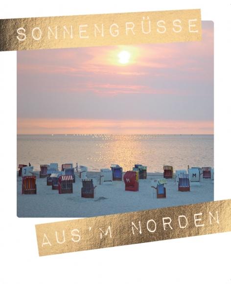 Postkarte: Sonnengrüße aus' m Norden
